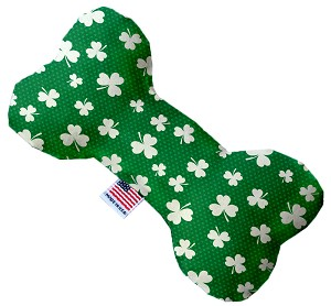 Shamrock 10 inch Stuffing Free Bone Dog Toy